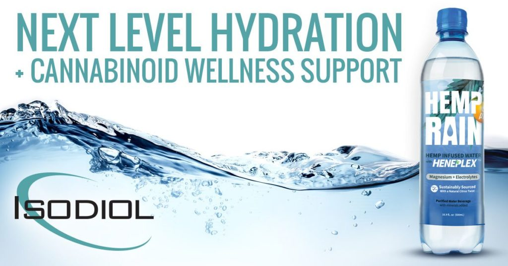 An Isodiol advert for a CBD Naturals product.