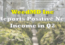 WeedMD Reports Second Quarter Revenue of $7.97 Million, Positive Net Income
