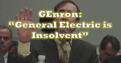 "Harry Markopolos Calls General Electric ""GEnron,"" Presents Case for Insolvency"