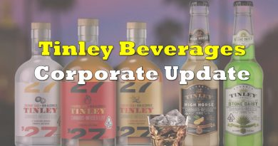 Tinley Beverage Releases Much Awaited Corporate Update