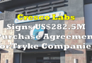 Cresco Labs Enters US$282.5 Million Purchase Agreement for Tryke Companies