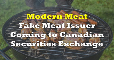 Fake Meat Issuer Modern Meat Inc Coming to Canadian Securities Exchange