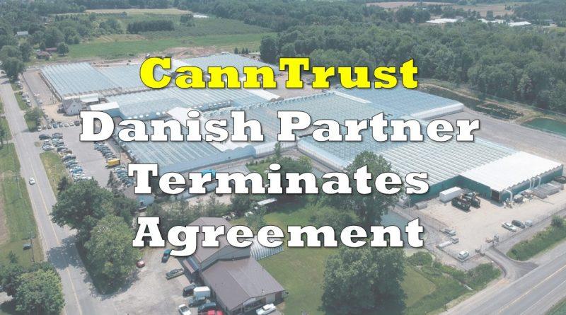 CannTrust Loses European Partner STENOCARE