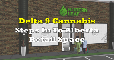 Delta 9 Cannabis to Step Into Alberta Retail