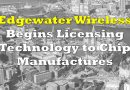 EdgeWater Wireless To License Technology to Chip Makers