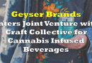 Geyser Brands Announces Joint Venture For Craft Cannabis Infused Beverages