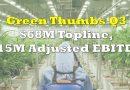 Green Thumb Industries Generates $68M in Top Line Revenue, Shrinking Loss, Positive EBITDA