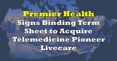 Premier Health Group to Acquire Telemedicine Pioneer Livecare