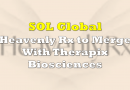 SOL Global's Heavenly Rx to Merge With Therapix Biosciences