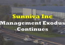 Management Exodus Continues At Sunniva