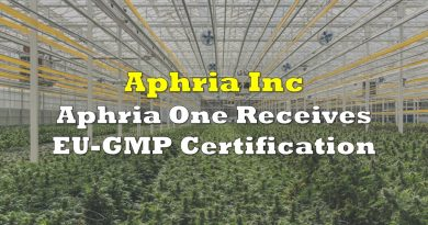 Aphria One Receives EU-GMP Certification