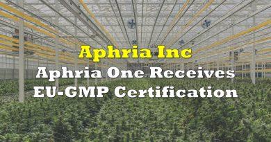 Aphria One Receives EU-GMP Certification
