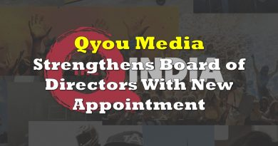 Qyou Media Strengthens Board of Directors With New Appointment