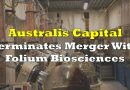 Australis Terminates Folium Biosciences Merger