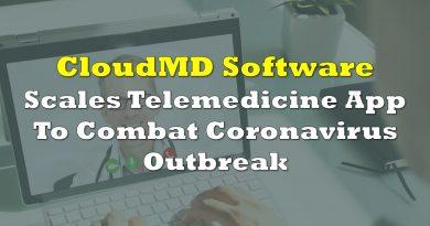 CloudMD Scales Telemedicine App To Combat Coronavirus Outbreak