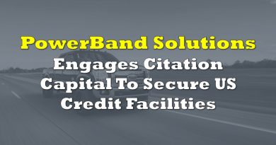 PowerBand Solutions Engages Citation Capital To Secure US Credit Facilities