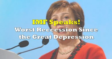 IMF Report: Worst Global Down Turn Since the Great Depression