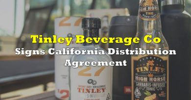 Tinley Beverage Co Signs California Distribution Agreement