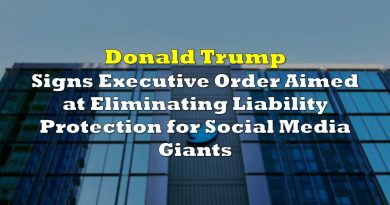 Donald Trump Signs Executive Order Aimed at Eliminating Liability Protection for Social Media Giants