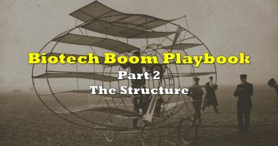 Biotech Boom Playbook, Part Two: The Structure