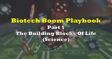 Biotech Boom Playbook: Part 1: The Building Blocks Of Life (Science)