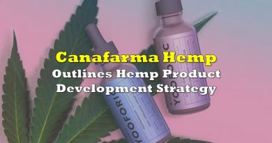 Canafarma Outlines Hemp Product Development Strategy