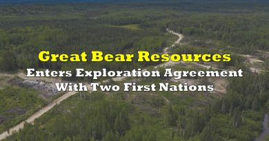 Great Bear Resources Enters Exploration Agreement With Two First Nations