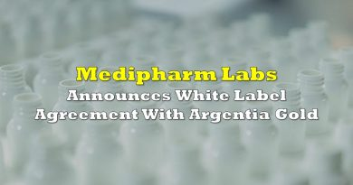 Medipharm Announces White Label Agreement With Argentia Gold