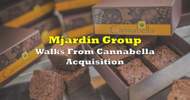 MJardin Group Walks From Cannabella Acquisition