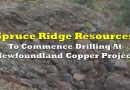 Spruce Ridge Resources To Commence Drilling At Newfoundland Copper Project