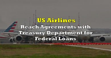 US Airlines Reach Agreements with Treasury for Federal Loans