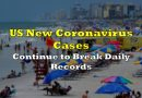 US New Coronavirus Cases Continue to Break Daily Records