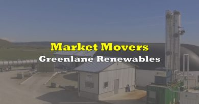 Market Movers: Greenlane Renewables