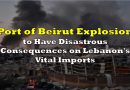 Port of Beirut Explosion to Have Disastrous Consequences on Lebanon's Vital Imports