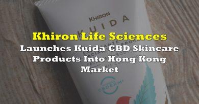 Khiron Launches Kuida CBD Skincare Products Into Hong Kong Market