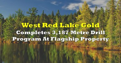 West Red Lake Completes 3,187 Metre Drill Program At Flagship Property