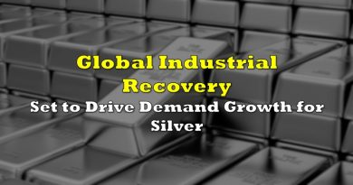 Global Industrial Recovery Set to Drive Demand Growth for Silver