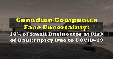 Canadian Companies Face Uncertainty: 14% of Small Businesses at Risk of Bankruptcy Due to COVID-19