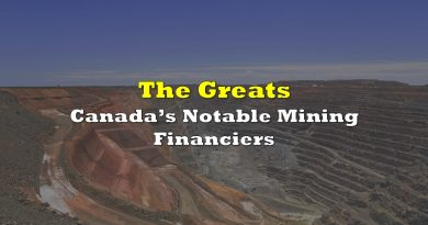 The Greats: Canada's Notable Mining Financiers