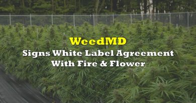 WeedMD Signs White Label Extraction Agreement With Fire & Flower