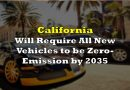 California Will Require All New Vehicles to be Zero-Emission by 2035