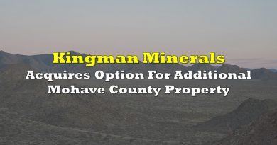 Kingman Minerals Acquires Option For Additional Mohave County Property