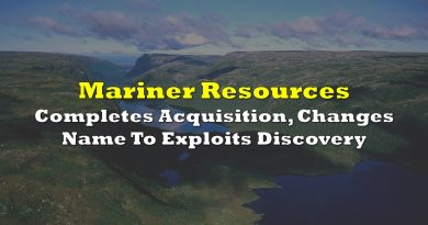 Mariner Completes Acquisition, Changes Name To Exploits Discovery