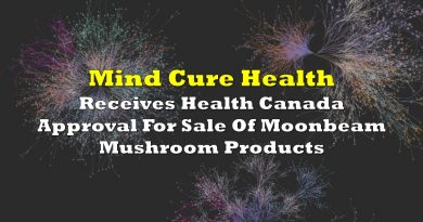 Mind Cure Receives Health Canada Approval For Sale Of Moonbeam Mushroom Products