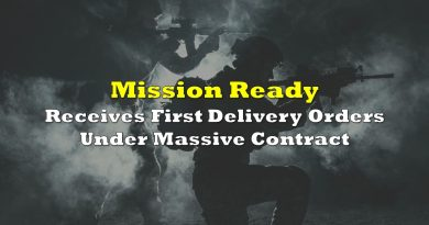 Mission Ready Receives First Delivery Orders Under Massive Contract