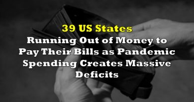 39 US States Running Out of Money to Pay Their Bills as Pandemic Spending Creates Massive Deficits