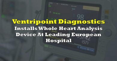 Ventripoint Diagnostics Installs Whole Heart Analysis Device At Leading European Hospital