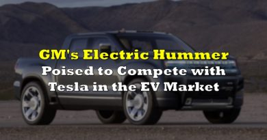 GM's Electric Hummer Poised to Compete with Tesla in the EV Market