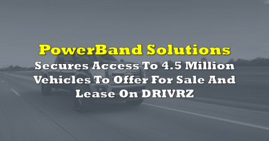 PowerBand Secures Access To 4.5 Million Vehicles To Offer For Sale And Lease On Virtual Transaction Platform