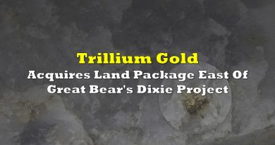 Trillium Acquires Land Package East Of Great Bear's Dixie Project